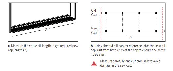 install sill cap